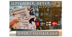 September Offer - 2-for-1 Membership